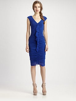 Fuzzi - Gathered-Front Dress