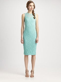 Fuzzi - Fitted Lace Dress