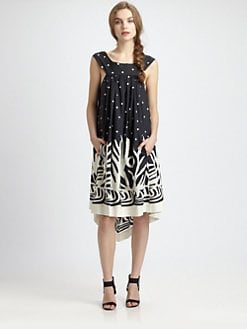 Fuzzi - Sleeveless Printed Dress