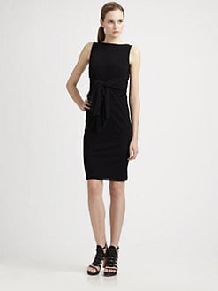 Fuzzi - Sleeveless Waist-Detail Dress