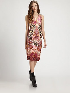 Fuzzi - Sleeveless Kaleidoscope Dress