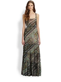 Fuzzi - Printed Maxi Dress