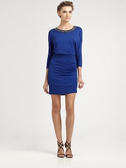 Laundry by Shelli Segal - Draped Back Dress