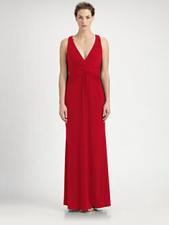 Laundry by Shelli Segal - Halter Jersey Gown