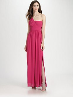 Laundry by Shelli Segal - Asymmetrical Gown