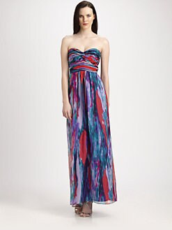 Laundry by Shelli Segal - Strapless Maxi Dress
