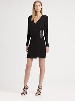 Laundry by Shelli Segal - Side Beaded Dress