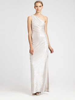 Laundry by Shelli Segal - Metallic Gown