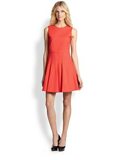 RED Valentino - Stretch Cotton Fit-&-Flare Dress