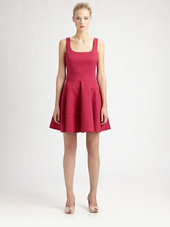 RED Valentino - Sleeveless A-Line Dress