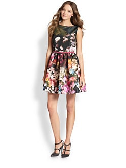 RED Valentino - Garden-Print Dress