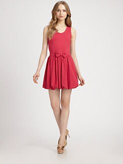RED Valentino - Bubble-Hem Tank Dress