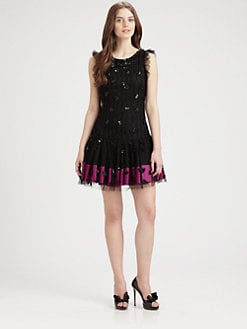 RED Valentino - Embellished Party Dress
