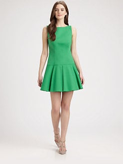 RED Valentino - Drop-Waist Dress