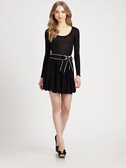 RED Valentino - Wool Jersey Dress
