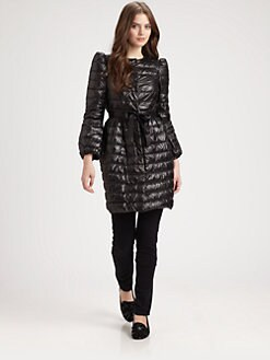 RED Valentino - Silk Puffer Coat
