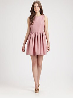 RED Valentino - Full Faille Dress
