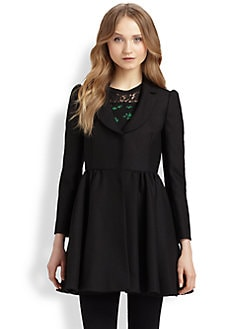 RED Valentino - Full-Skirted Coat