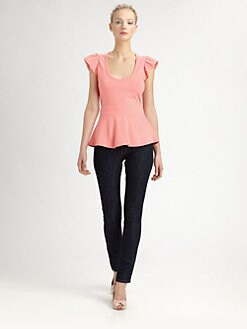 RED Valentino - Peplum Top