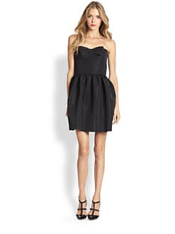 RED Valentino - Sleeveless Dropped-Waist Dress