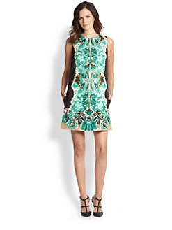 RED Valentino - Marzipan-Print Dress