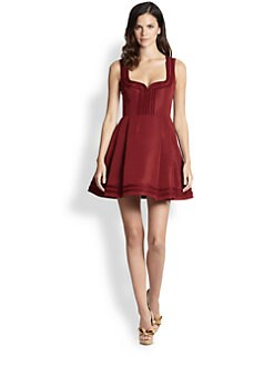 RED Valentino - Sleeveless Box-Pleat Dress