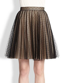 RED Valentino - Point D'Esprit Skirt