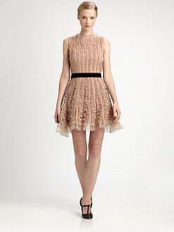 RED Valentino - Crepe de Chine Dress