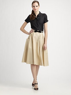 Kate Spade New York - Catlin Silk Poplin Top