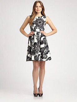 Kate Spade New York - Alanis Cotton/Silk Dress