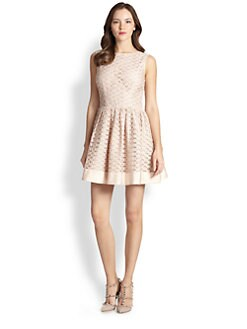 RED Valentino - Ribbon Embroidery Dress