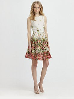 RED Valentino - Strawberry A-Line Dress