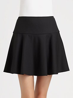 RED Valentino - Crepe Skirt