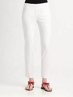 RED Valentino - Stretch-Cotton Pants