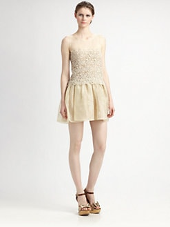 RED Valentino - Silk Organza Dress