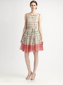 RED Valentino - Nautical-Print Dress