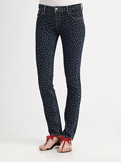 RED Valentino - Polka Dot Jeans