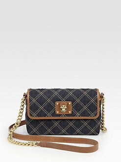 Marc Jacobs - Single Quilted Denim Shoulder Bag