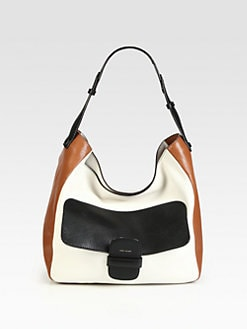 Marc Jacobs - Ivory Brighton Colorblock Hobo