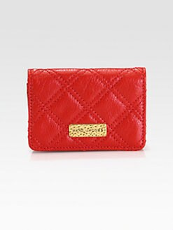 Marc Jacobs - Train Quilted Card Holder