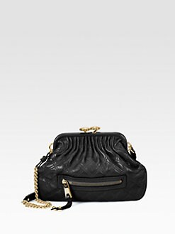 Marc Jacobs - Little Stam Quilted Leather Shoulder Bag