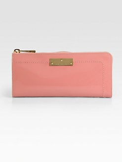 Marc Jacobs - The Lex Patent Leather Zip-Around Wallet