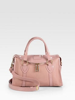 Marc Jacobs - Fulton Leather & Patent Leather Small Satchel