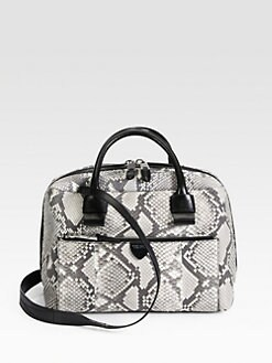 Marc Jacobs - Antonia Small Python Top Handle Bag
