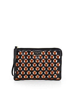 Marc Jacobs - Perforated Flat Zip Pouch