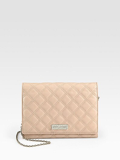 Baroque Slim Quilted Convertible Clutch