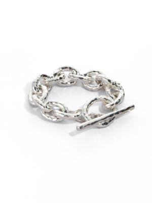 Glamazon Sterling Silver Bastille Link Bracelet