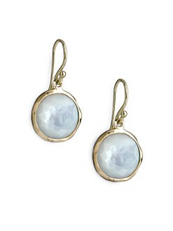 IPPOLITA - Mother-of-Pearl & 18K Yellow Gold Earrings