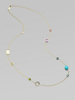 IPPOLITA - Semi-Precious Multi-Stone & 18K Yellow Gold Necklace