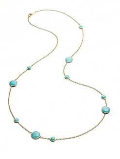 IPPOLITA - Turquoise & 18K Gold Necklace